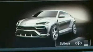 Lamborghini Urus Teaser Video Screenshots