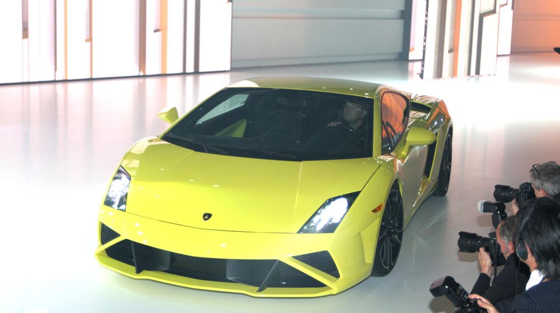 Lamborghini, VW Konzernabend, Autosalon Paris 2012