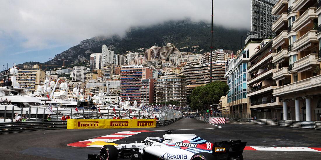 Lance Strol - Williams - GP Monaco - Formel 1 - Donnerstag - 24.5.2018