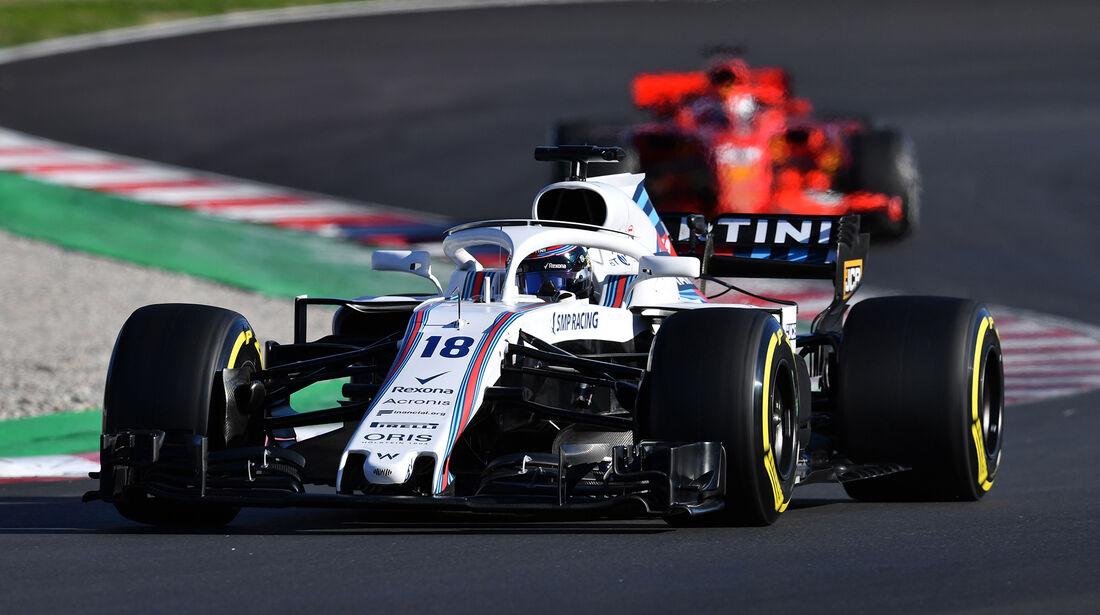 Lance Stroll - F1-Test - Barcelona - Tag 5 - 6. März 2018