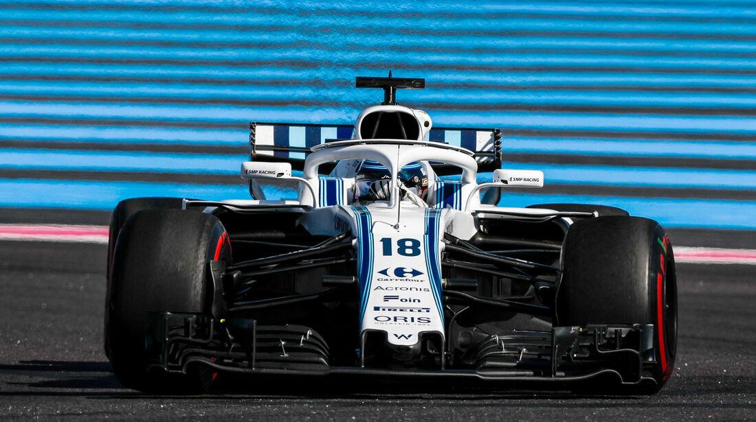 Lance Stroll - Formel 1 - GP Frankreich 2018