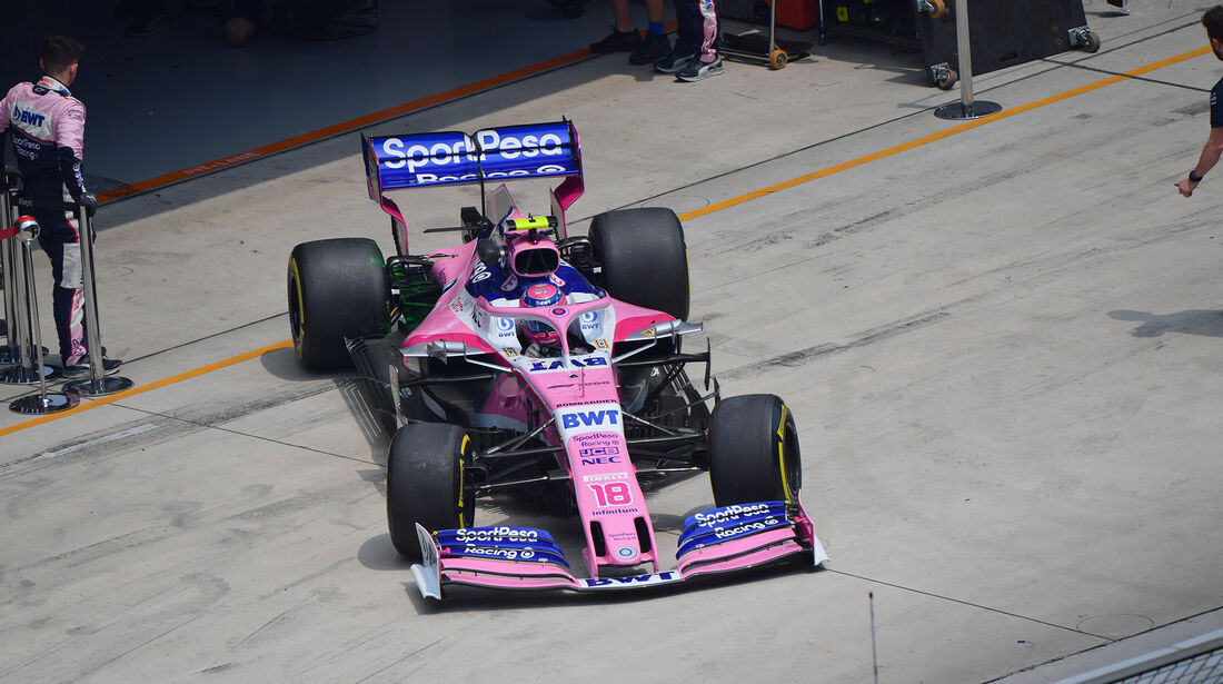 Lance Stroll - Racing Point - GP China - Shanghai - Formel 1 - Freitag - 12.4.2019