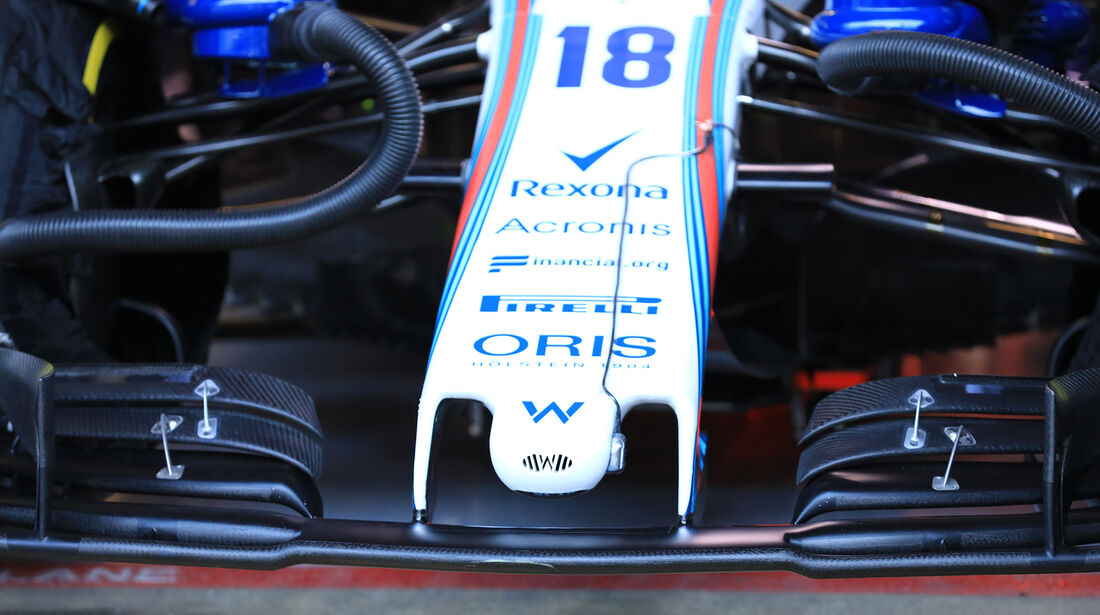 Lance Stroll - Williams - F1-Test - Barcelona - Tag 5 - 6. März 2018