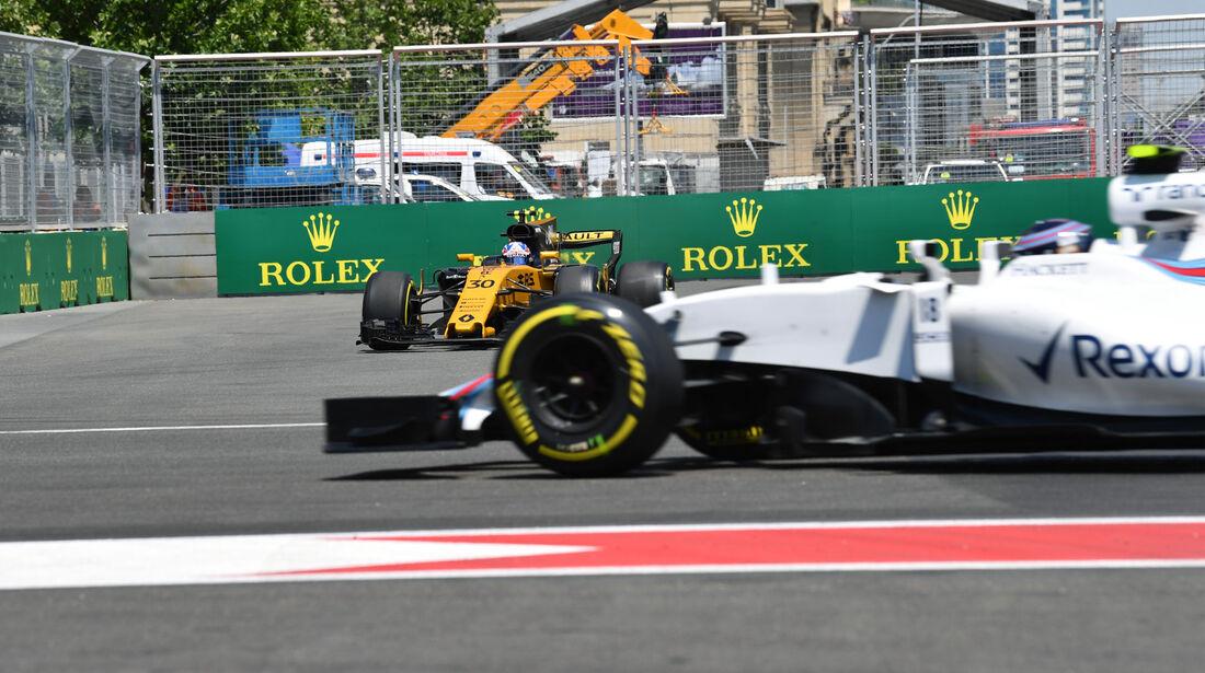 Lance Stroll - Williams - Formel 1 - GP Aseerbaidschan 2017 - Training - Freitag - 23.6.2017