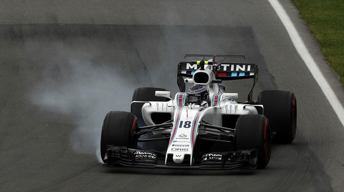 Lance Stroll - Williams - Formel 1 - GP Kanada - Montreal - 9. Juni 2017