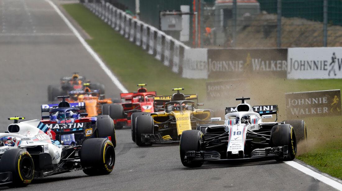 Lance Stroll - Williams - GP Belgien 2018 - Spa