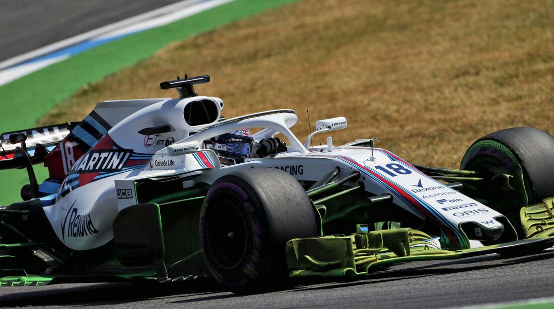 Lance Stroll - Williams - GP Deutschland - Hockenheim - Formel 1 - Freitag - 20.7.2018