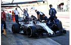 Lance Stroll - Williams - Testfahrten - Barcelona - Freitag - 10.3.2017