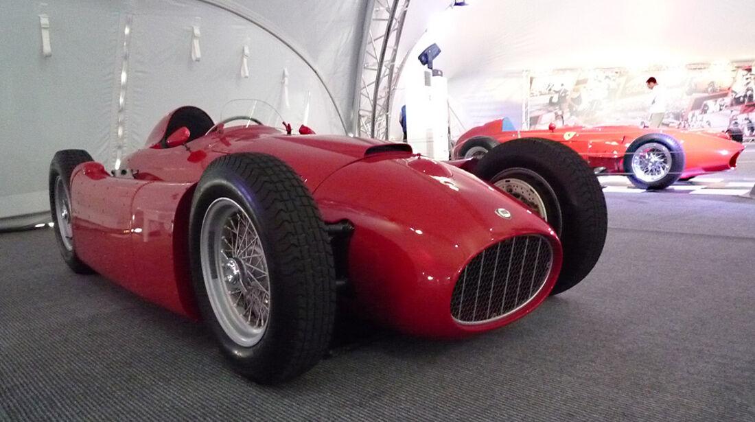 Lancia D50 - Verrückte Formel 1-Ideen