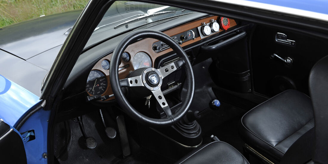 Lancia Fulvia 1.3 S Montecarlo, Innenraum