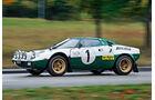 Lancia Stratos HF, Seitenansicht