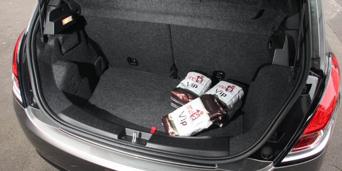 Lancia Ypsilon 0.9 Twinair, Kofferraum