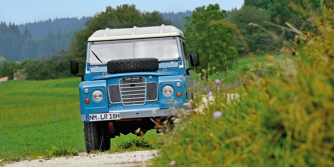 Land Rover 109, Frontansicht