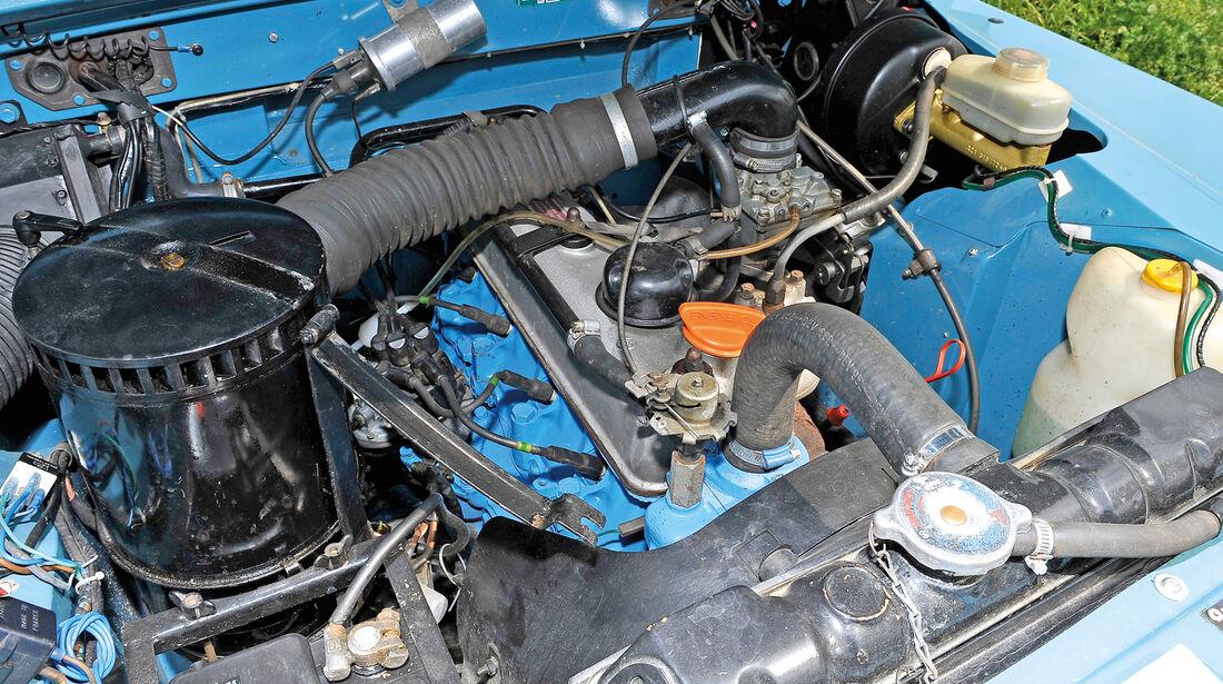 Land Rover 109, Motor