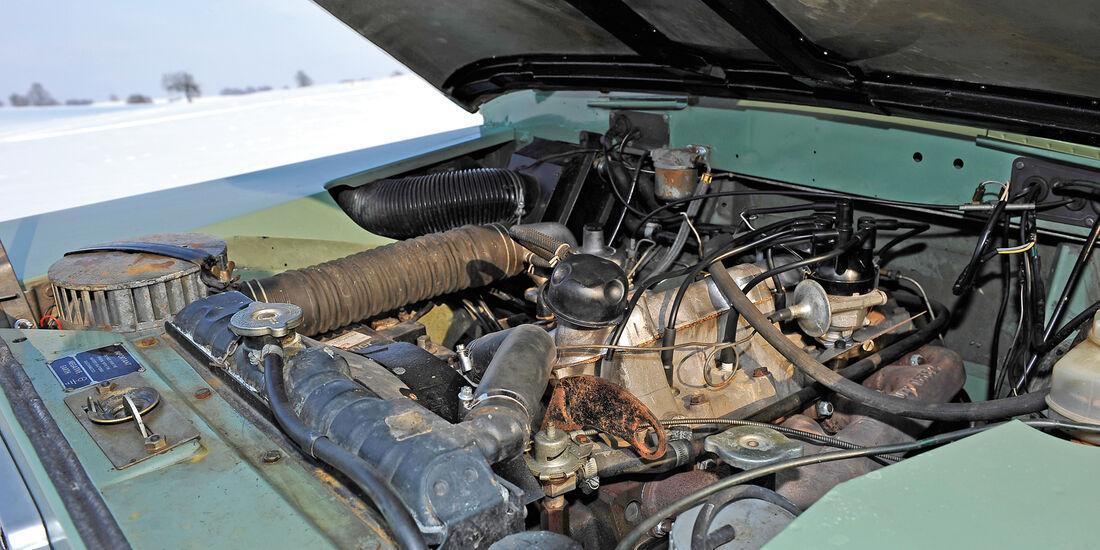 Land Rover 109 Serie 3, Motor