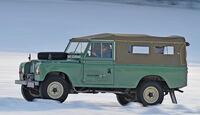 Land Rover 109 Serie 3, Seitenansicht