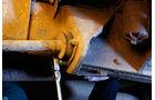 Land Rover 90, 110, Defender, Detail, Unterboden
