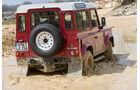 Land Rover Defender 90 TD4 SW, Heckansicht