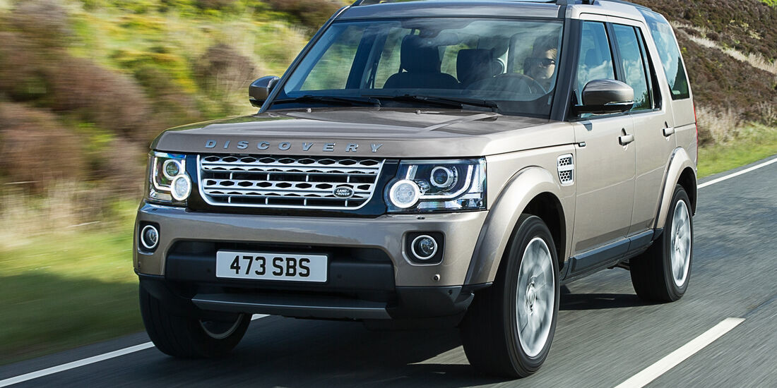 Land Rover Discovery, Frontansicht