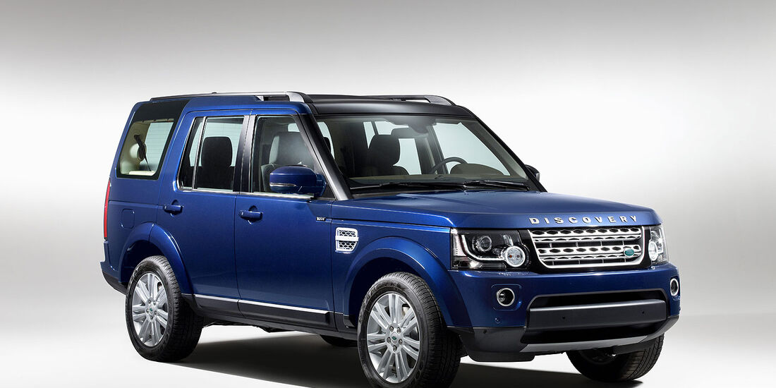 Land Rover Discovery Modelljahr 2014