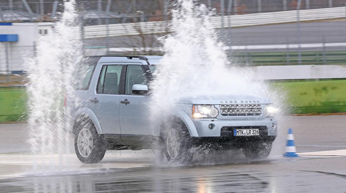 Land Rover Discovery, Seitenansicht, Nässe