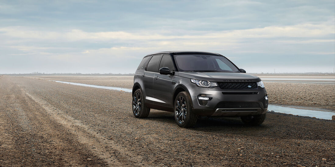 Land Rover Discovery Sport 2017 mit Tile-App