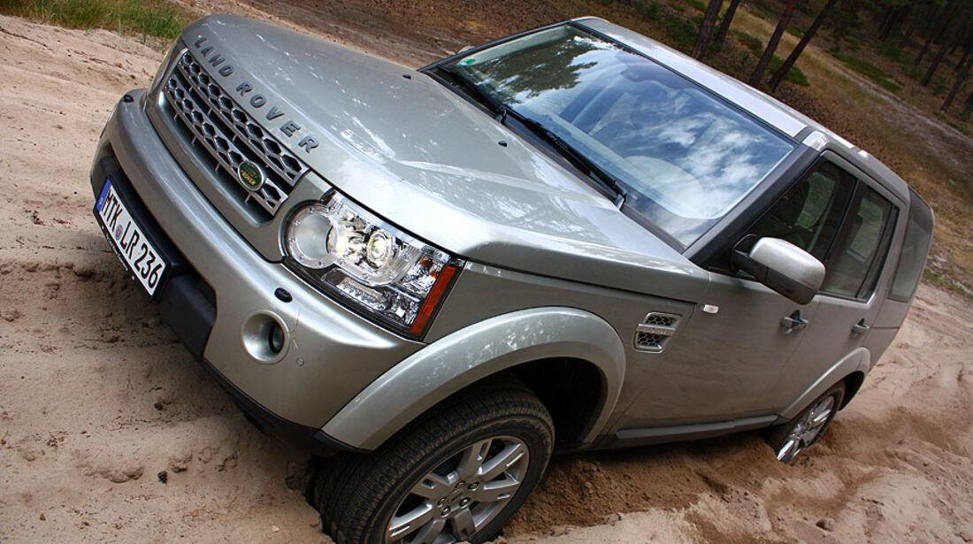 Land Rover Discovery TDV6 Supertest