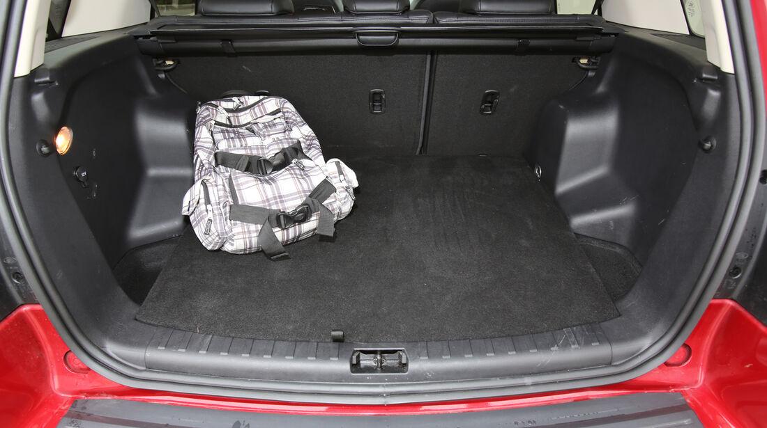 Land Rover Freelander 2.2 SD4, Kofferraum, Ladefläche
