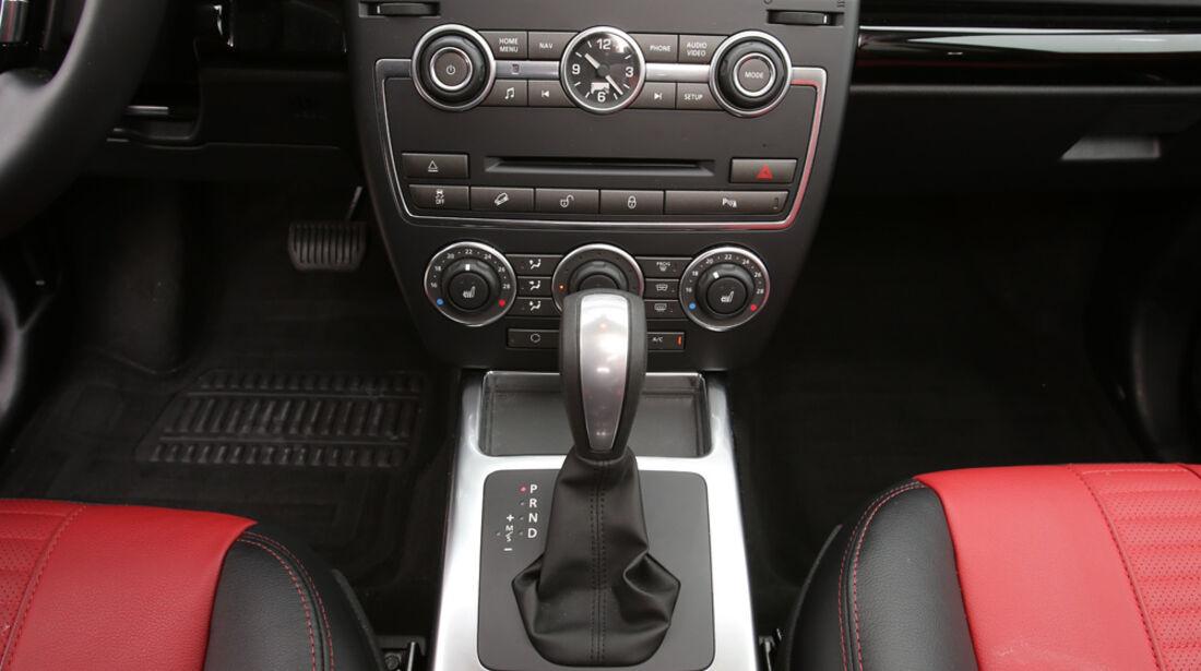 Land Rover Freelander 2.2 SD4, Mittelkonsole, Bedienelemente