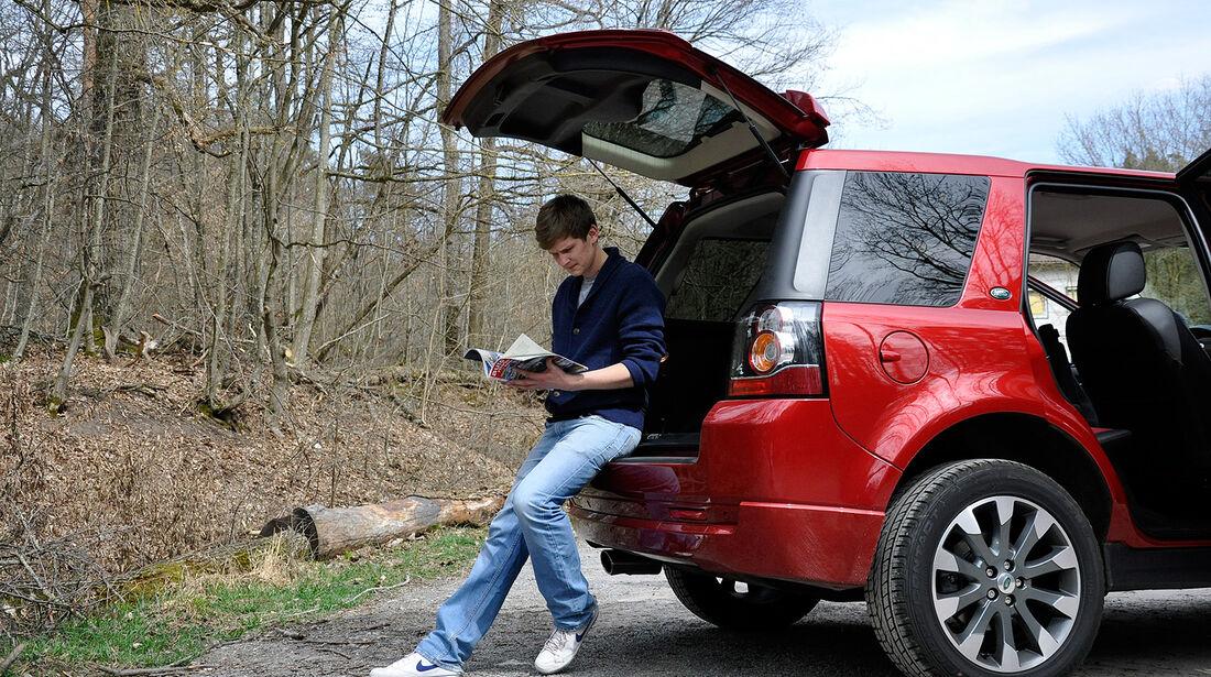 Land Rover Freelander 2.2 TD4, Ladekante