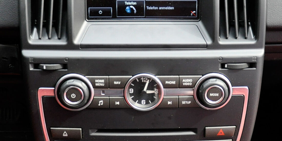 Land Rover Freelander 2.2 TD4, Mittelkonsole, Touchscreen, Klimaautomatik