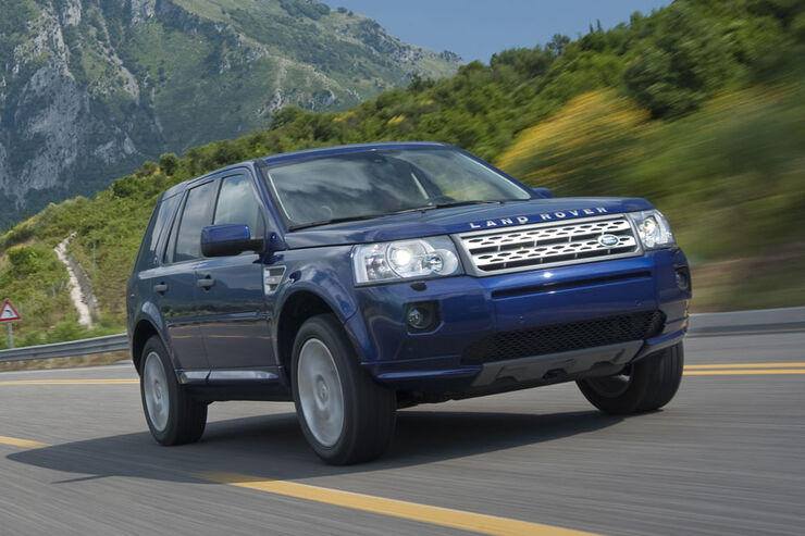 land rover freelander 2011 neues einstiegsmodell mit. Black Bedroom Furniture Sets. Home Design Ideas