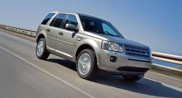 Land Rover Freelander Facelift 2011