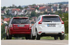 Land Rover Freelander, Volvo XC 60, Heckansicht