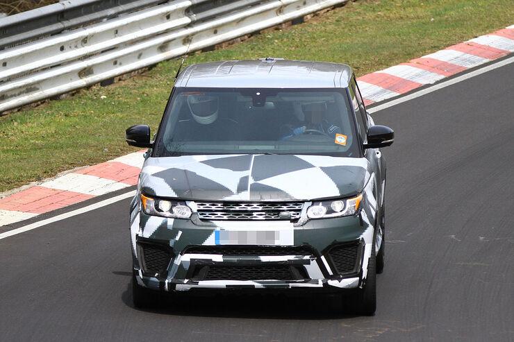Land Rover Range Rover Sport R-S Erlkönig