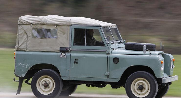 Land Rover, Seite