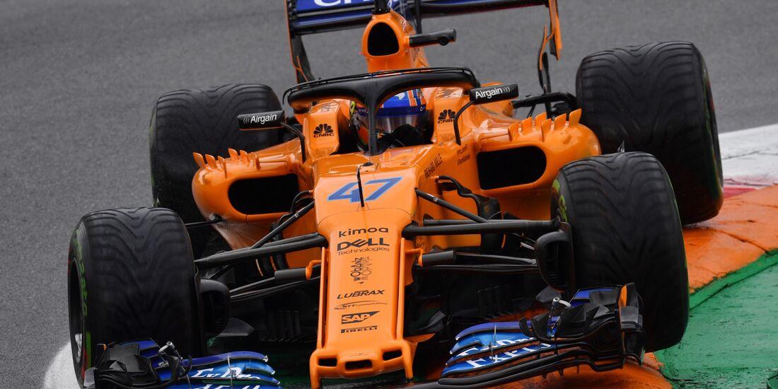 Lando Norris - McLaren - Formel 1 - GP Italien - 31. August 2018