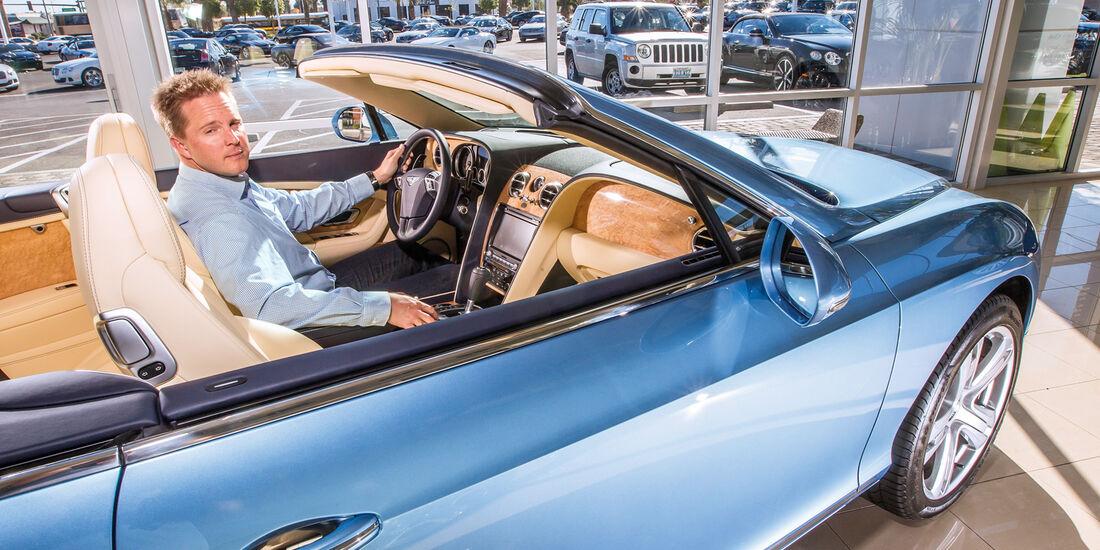 Las Vegas, Bentley Continental Cabrio, Cockpit