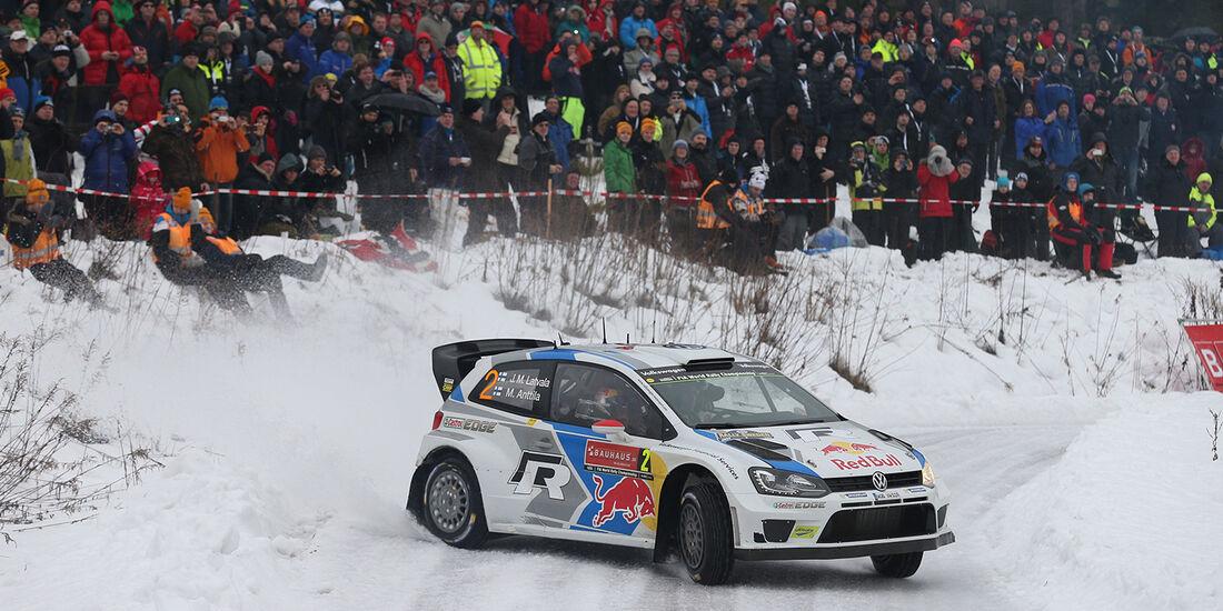 Latvala_VW Polo R WRC, Rallye Schweden 2014