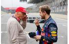 Lauda & Vettel - GP Brasilien 2013