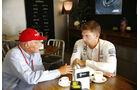 Lauda - Vowles - GP Abu Dhabi 2016 - Formel 1