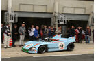 Le Mans Classic, Gulf, Mirage, Boxengasse