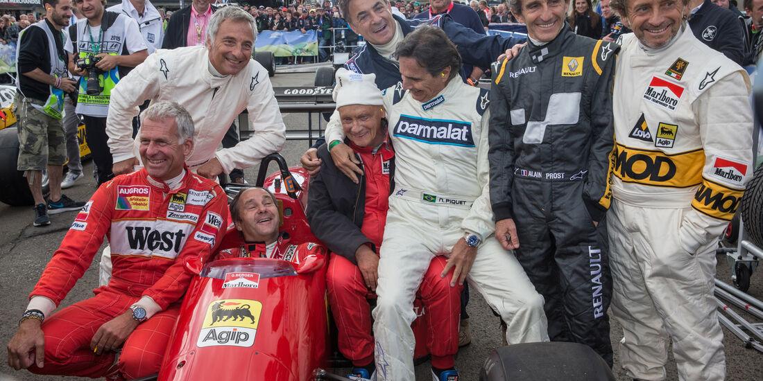 Legends Parade - GP Österreich 2015