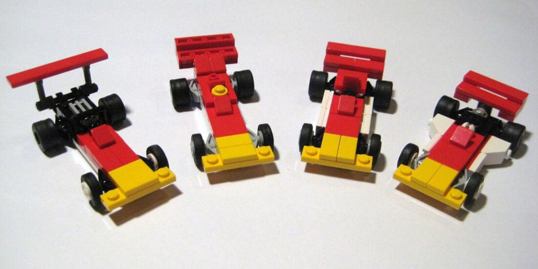Lego Rennautos - Gold Leaf Lotus F1
