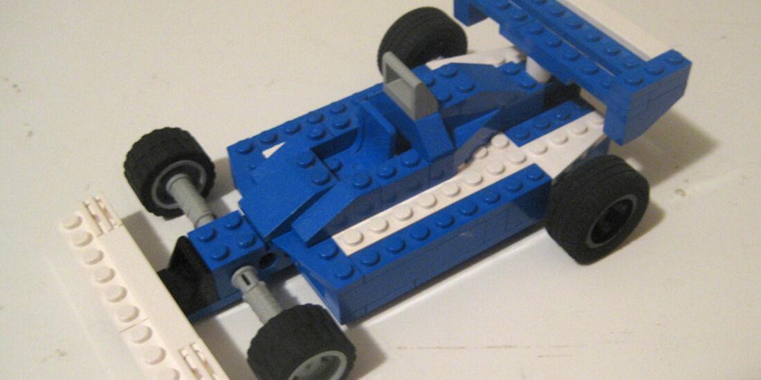 Lego Rennautos - Ligier JS7 (1977)
