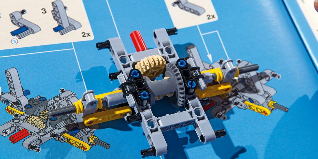 Lego-Technik, Antriebsachse