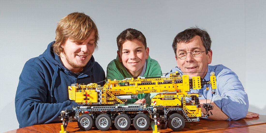 Lego-Technik, Team, Modell