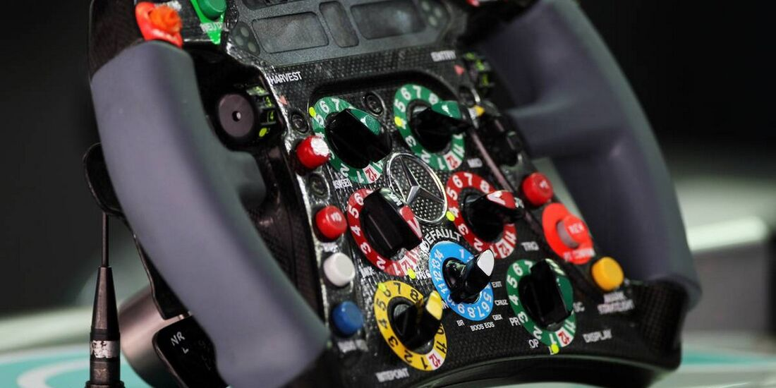 Lenkrad - Formel 1 - GP Indien - 26. Oktober 2012