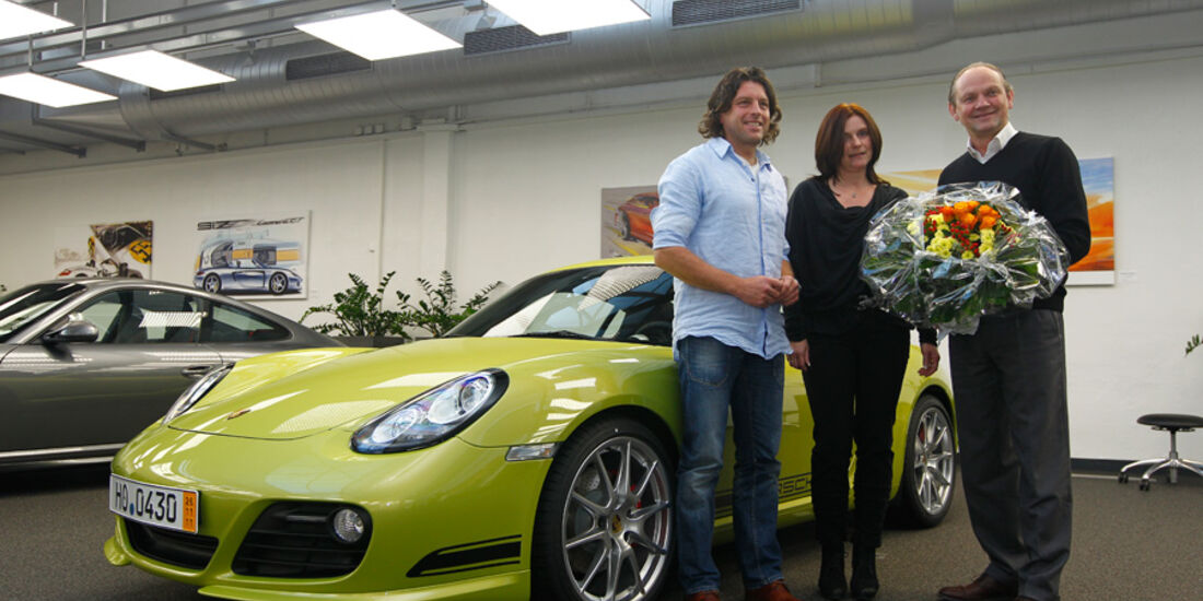 Leserwahl, Porsche Cayman R