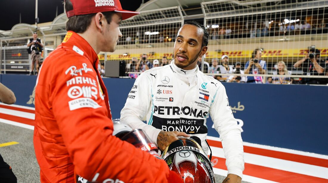 Lewis Hamilton - Charles Leclerc - Formel 1 - GP Bahrain - 30. März 2019